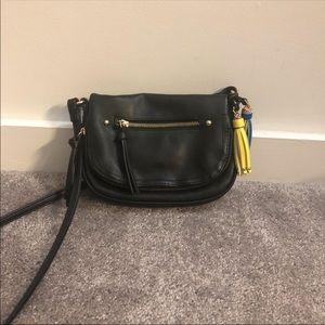 Call it Spring- Black Crossbody Bag